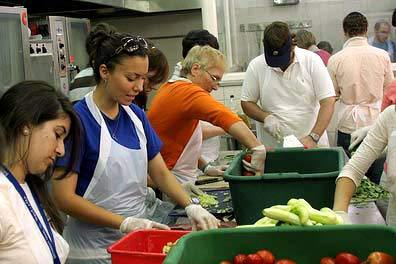Volunteering at soup kitchen essay